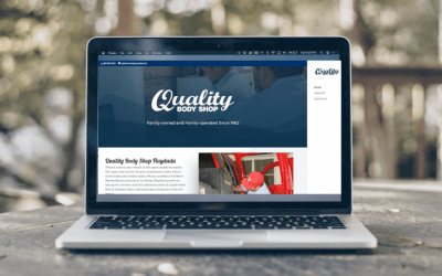 Quality Body Shop: New Website