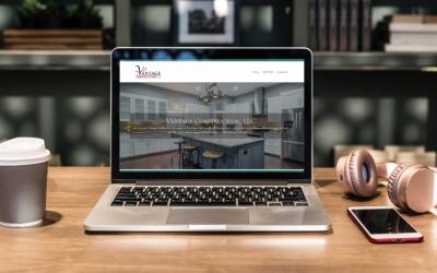 Vantage Construction: New Website