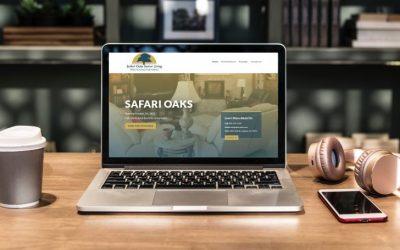 Safari Oaks: New Website